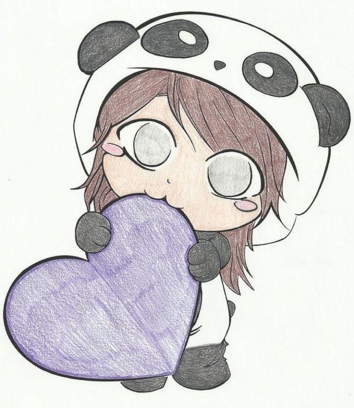▷ 1001 + tutos et idées pour réaliser un dessin d'amour mignon