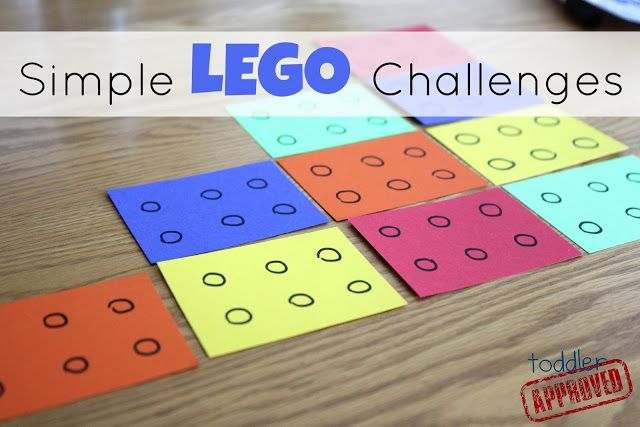 Toddler Approved!: Simple Lego Challenges for Kids