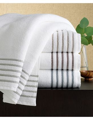 fb5b5de7c68 Hotel Collection Striped Bath Towels - Aegian | Master Bathroom ...