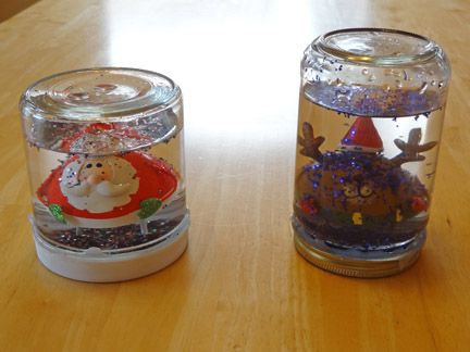 Gift of Curiousity: Snow globes