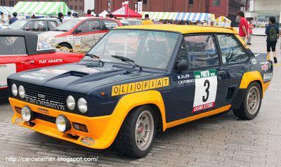 Abarth Fiat 131 rally (1976)