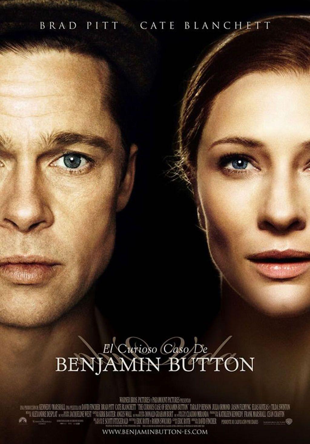 David Fincher The Curious Case Of Benjamin Button El Curioso Caso De Benjamin Button Afiches Cartazes De Filmes Capas De Filmes Melhores Filmes