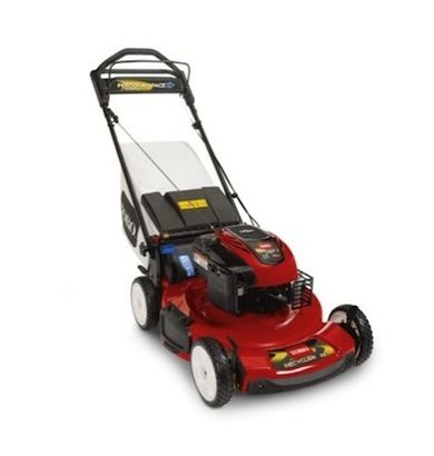 The Toro 20332 Received A Four Star Review From The Home Depot Customers Who Praised Its Easy Start Rear W Lawn Mower Gas Lawn Mower Push Lawn Mower