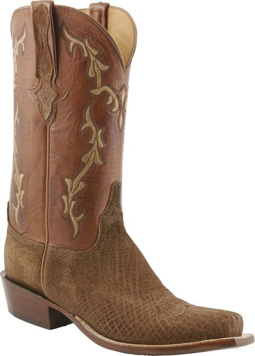 Mens Lucchese Classics Tan Hippo Custom Hand-Made Cowboy Boots L1421 ...