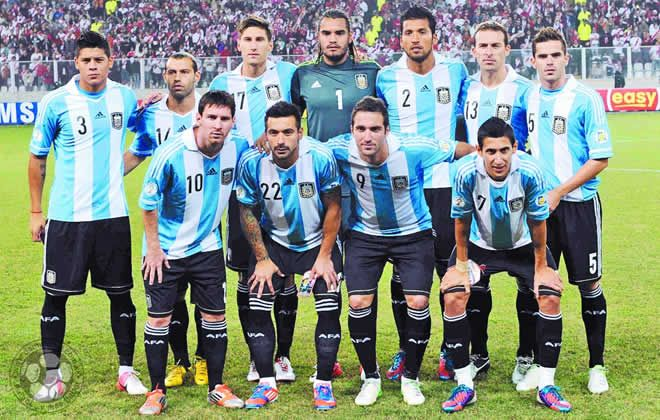 Team Photo Click On Photo To View Latest Match Highlights Argentina Mundial De Futbol Equipo De Futbol