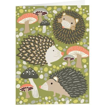 I love all the paper-source hedgehog, owls, and foxes.  would be great for a kids room.