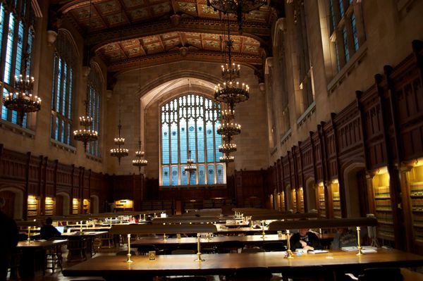The 25 Most Beautiful College Libraries in the World To Do List