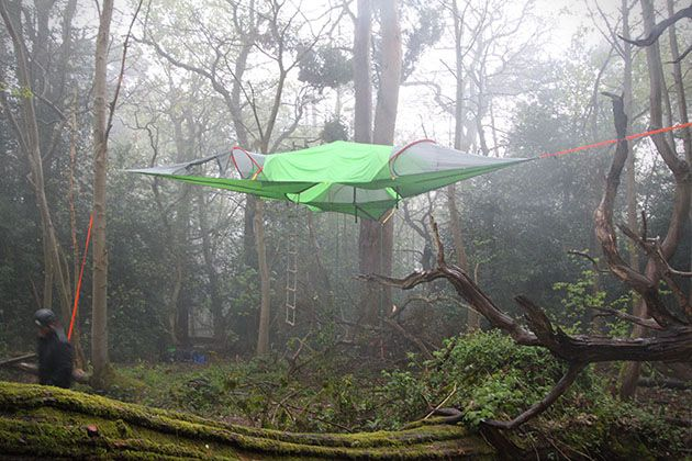 Sleep High In The Trees With The Tentsile Stingray Suspended Tent & Tentsile Stingray 3 Suspended Tree Tent | Random | Pinterest ...