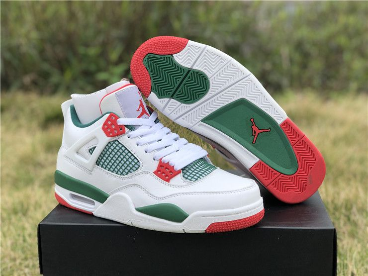 f024f43e03c 2019 Air Jordan 4 NRG Do The Right Thing White Green Red UK Shoes AQ3816-163
