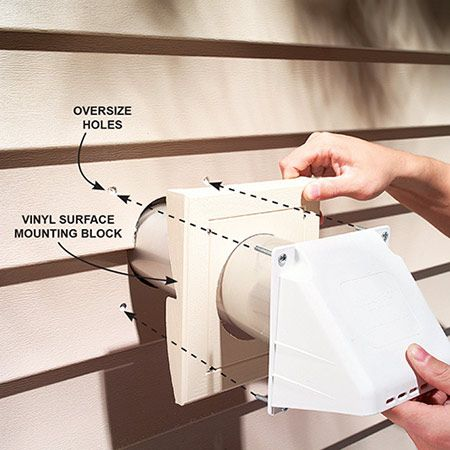 How To Install Dryer Vents Garage Ideas Dryer Vent