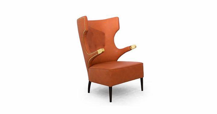 La naturaleza inspira el diseño de muebles: Sika arm chair de Brabbu. Sika es una especie de venado sagrado en Japon