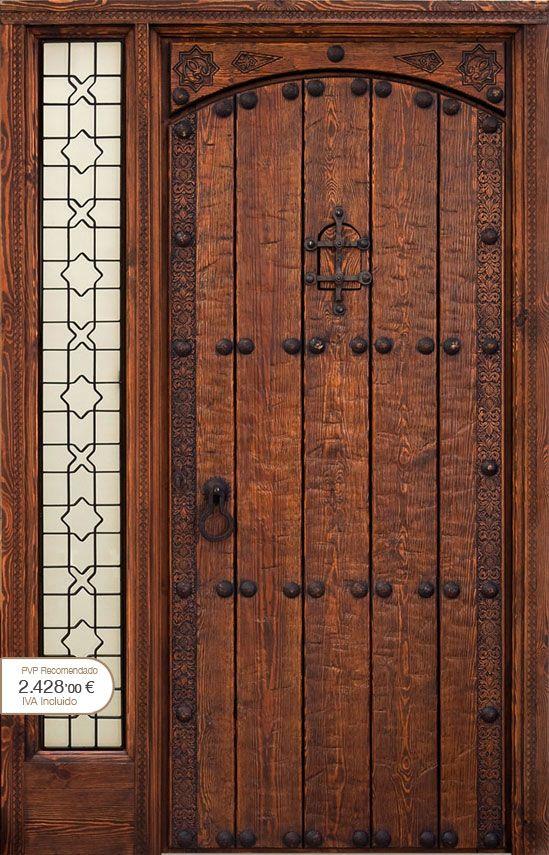 Puertas r sticas alpujarre as artesanos de la puerta - Puertas de exterior rusticas ...