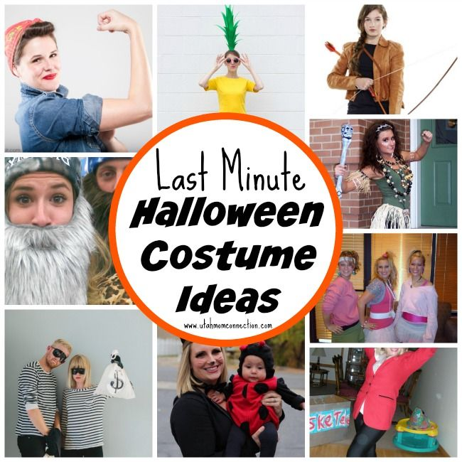 halloween costume ideas. Last Minute ...  sc 1 st  Pinterest & halloween costume ideas | Utah Mom Connection | Pinterest ...