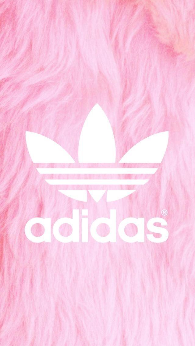size 40 b2673 e570d Pink Fluffy Adidas Wallpaper
