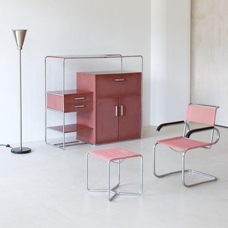 original bauhaus interior innenarchitektur garderoben und m bel. Black Bedroom Furniture Sets. Home Design Ideas