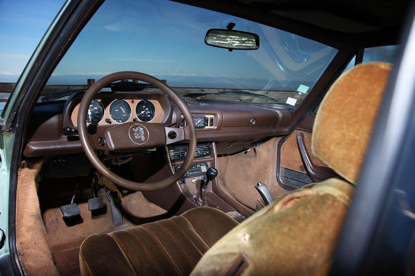Peugeot 504 coupe 2 0 interieur 504 peugeot pinterest for Interieur 404