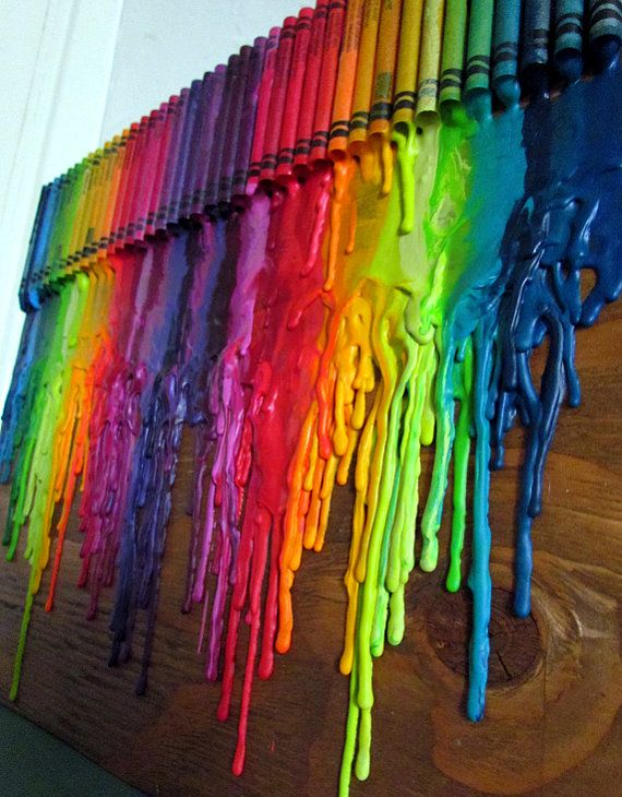 Can You Do Melted Crayon Art On Wood