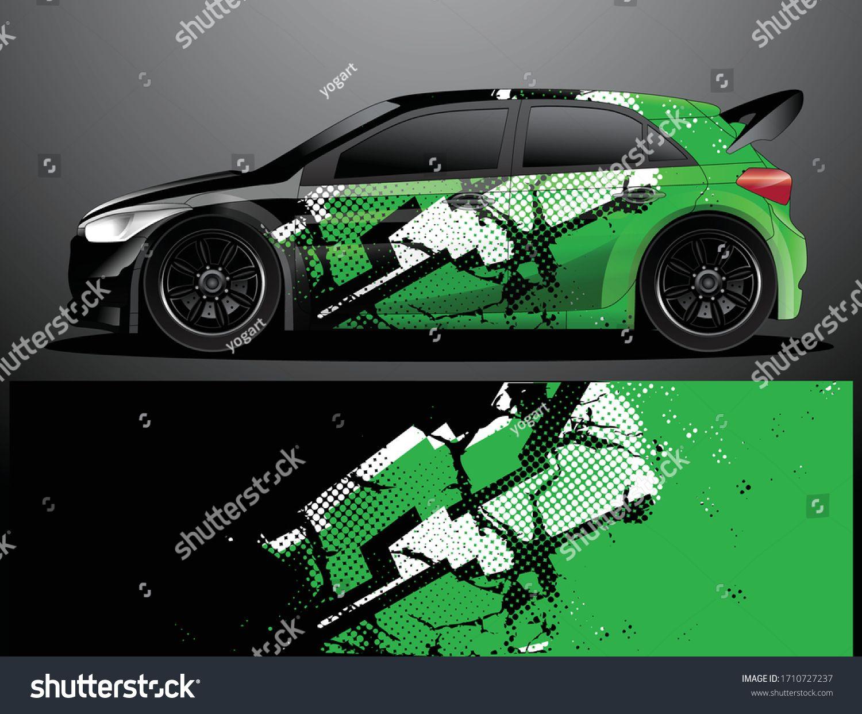 Rally Car Decal Grafik Wrap Vektorillustration Stock Vektorgrafik Lizenzfrei 1710727237 In 2020 Fahrzeugaufkleber Vektorgrafik Grafik