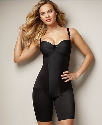 b838628317 Miraclesuit Extra Firm Control Strapless Thigh Slimming Body Shaper 2791 -  Lingerie - Women - Macy s