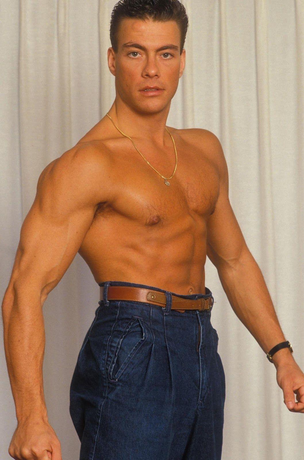 Tall pants Jean Claude Van Damme 90s | Gars musclés, Actrice