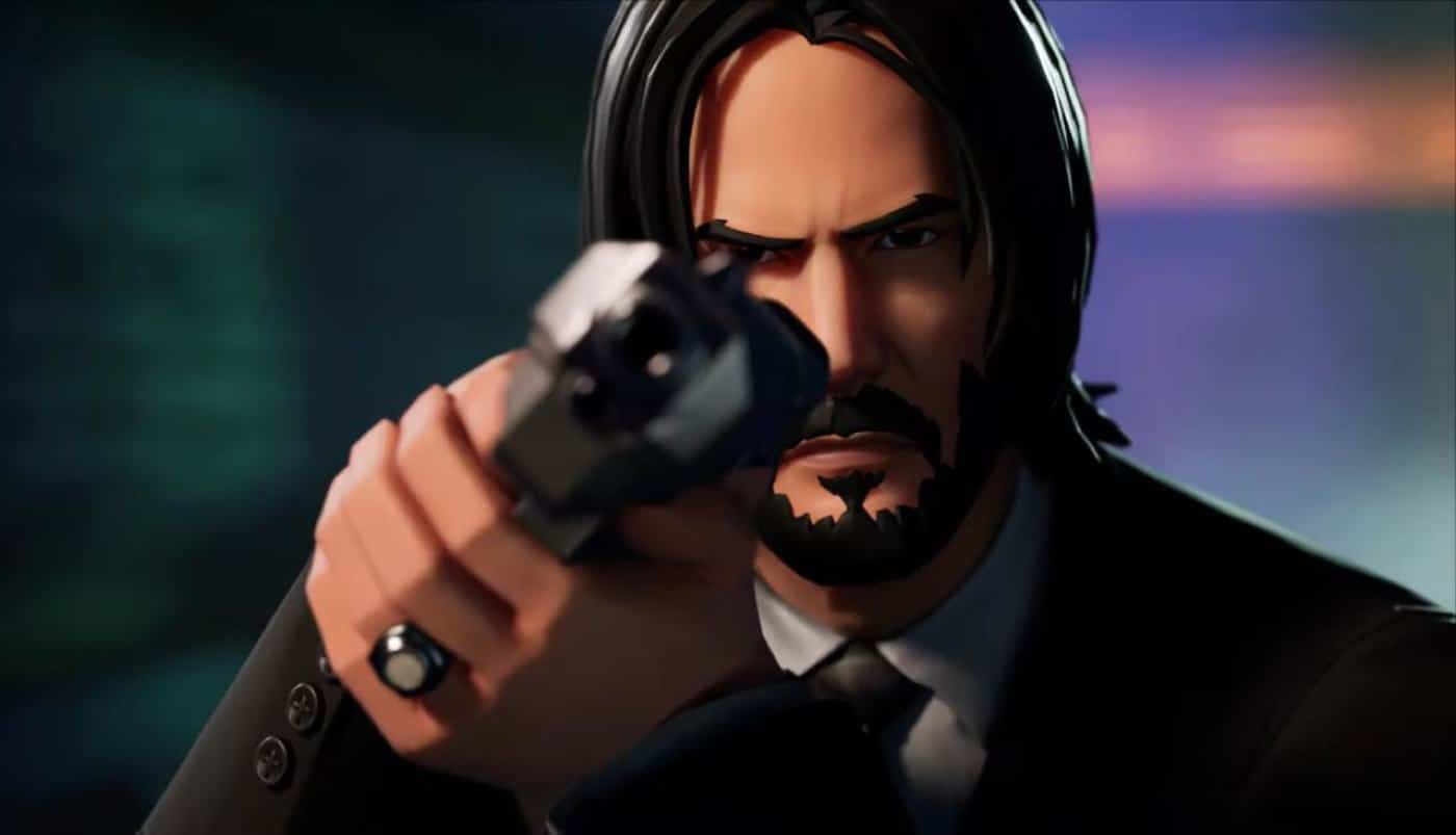John Wick 3 Brings Keanu Reeves And A New Game Mode To Fortnite Keanu Reeves Fortnite Skin