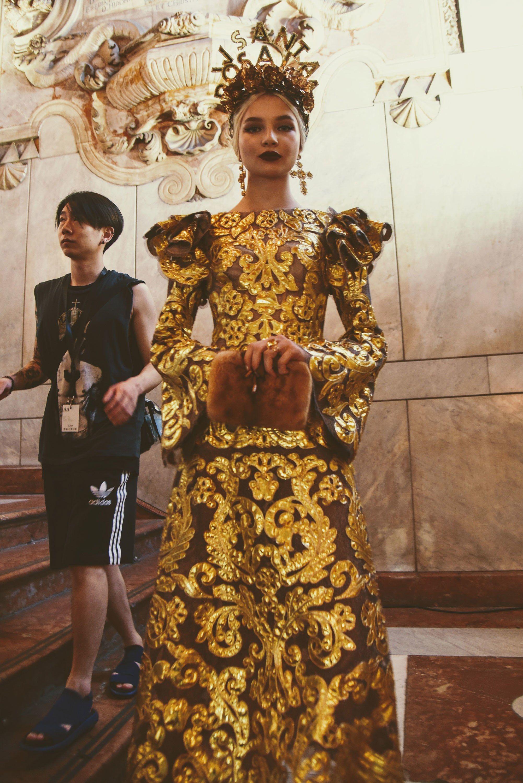 detailed look a231b b6e16 Sicilians Do It Better: Dolce & Gabbana Present Their Alta ...