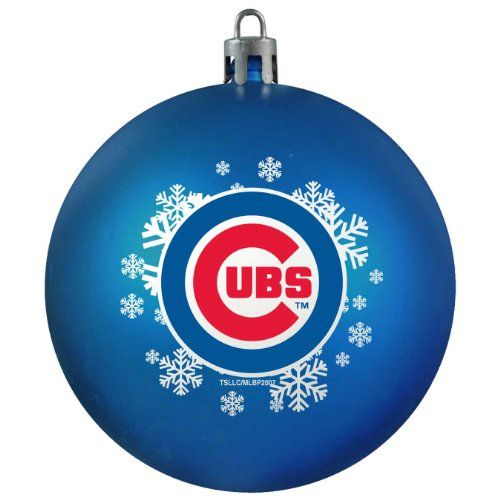 Cubs Christmas Ornaments.Chicago Cubs Christmas Ornament Mlb Christmas Ornaments