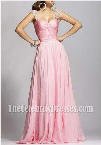 Elegant Pink Long Prom Gown Evening Dresses Formal Bridesmaid Dress
