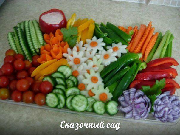 Сезон овощей: нескучная оранжировка..