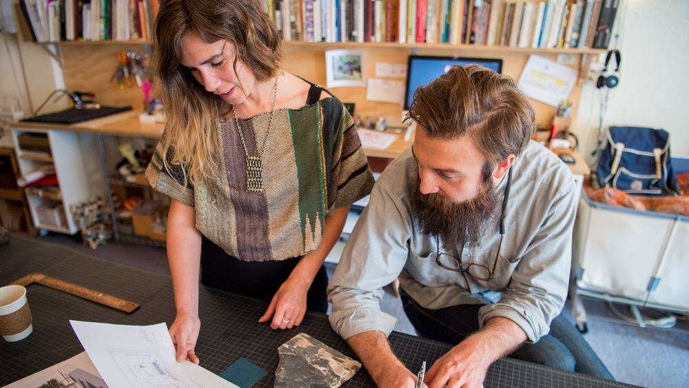Karie Reinertson and Rob Maddox have found that their unconventional approach to design opens up the opportunity for collaboration.