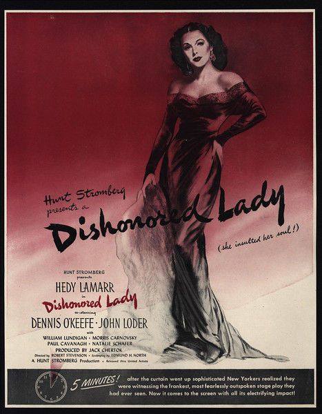 Download Dishonored Lady Full-Movie Free