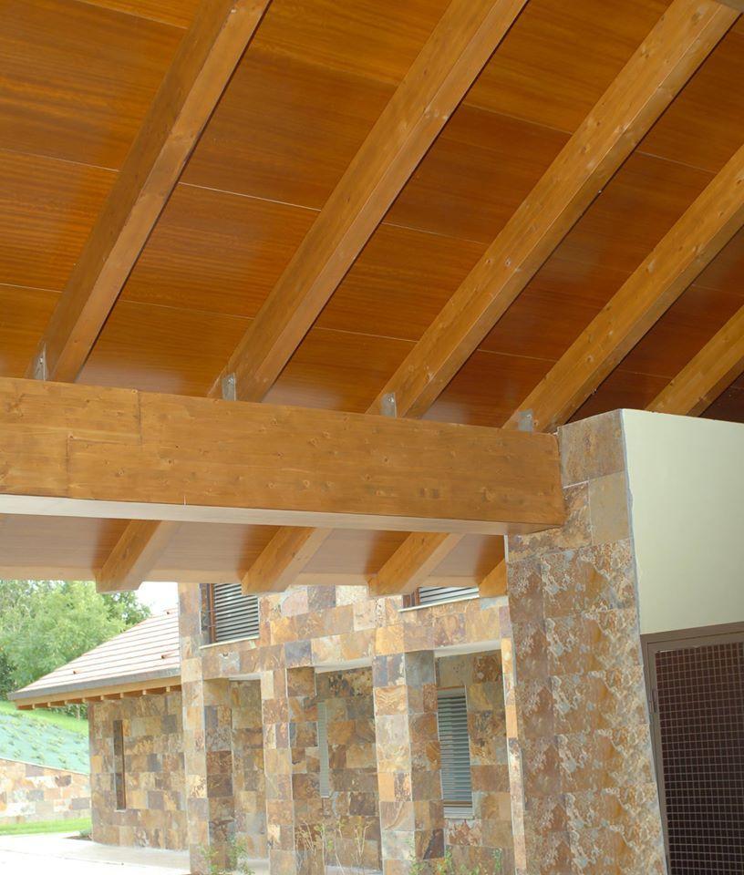 Paneles s ndwich de madera thermochip una fant stica - Decoracion para techos ...