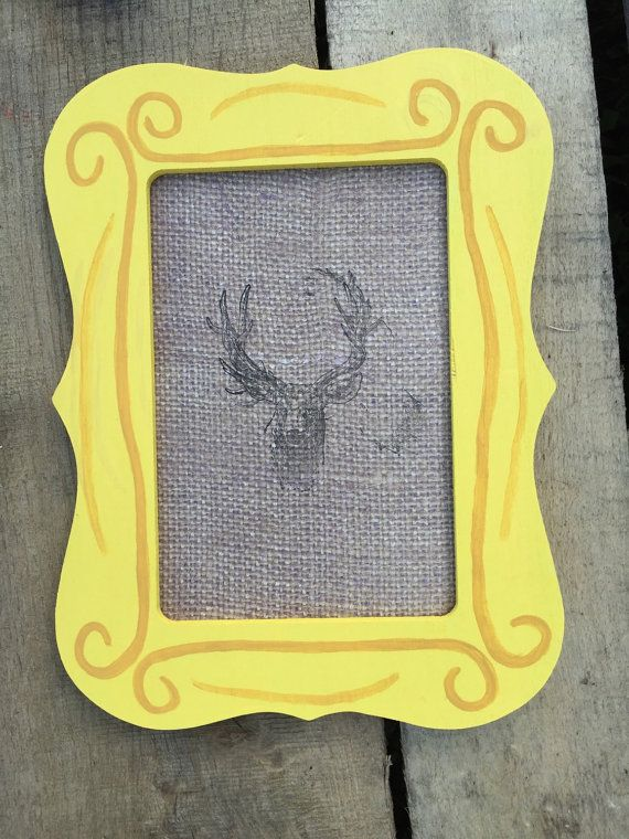 Friends TV Show Peephole Frame by TheSouthernJunkers on Etsy | Wish ...