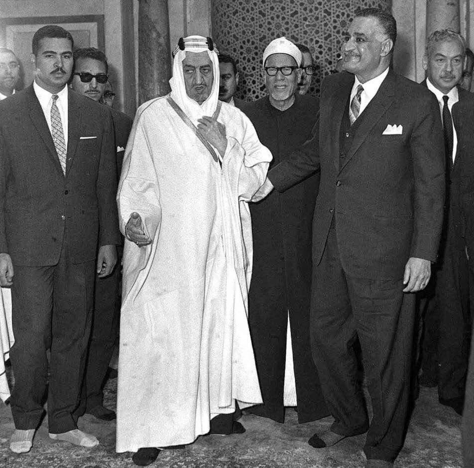 Pin By Etymopedia On Egypt King Faisal Historical Moments Gamal Abdel Nasser