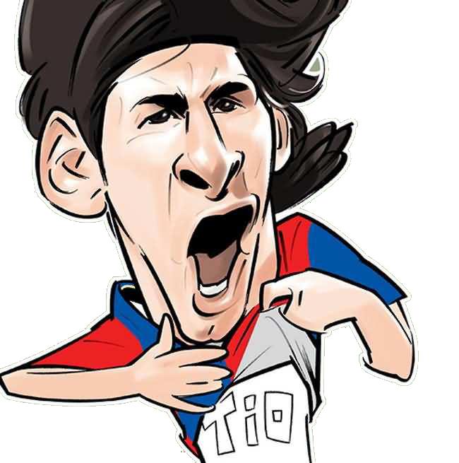 Leo Messi Lionel Messi Messi Caricature