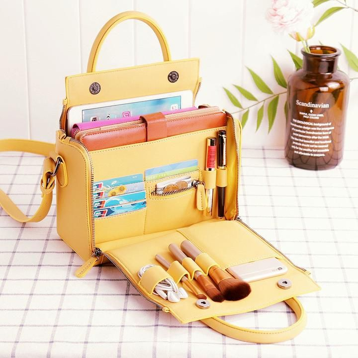 e62e3ff872 Presale 2019 Women Cosmetic Handbag Capacity Bag Multifunction Crossbo –  vogueix