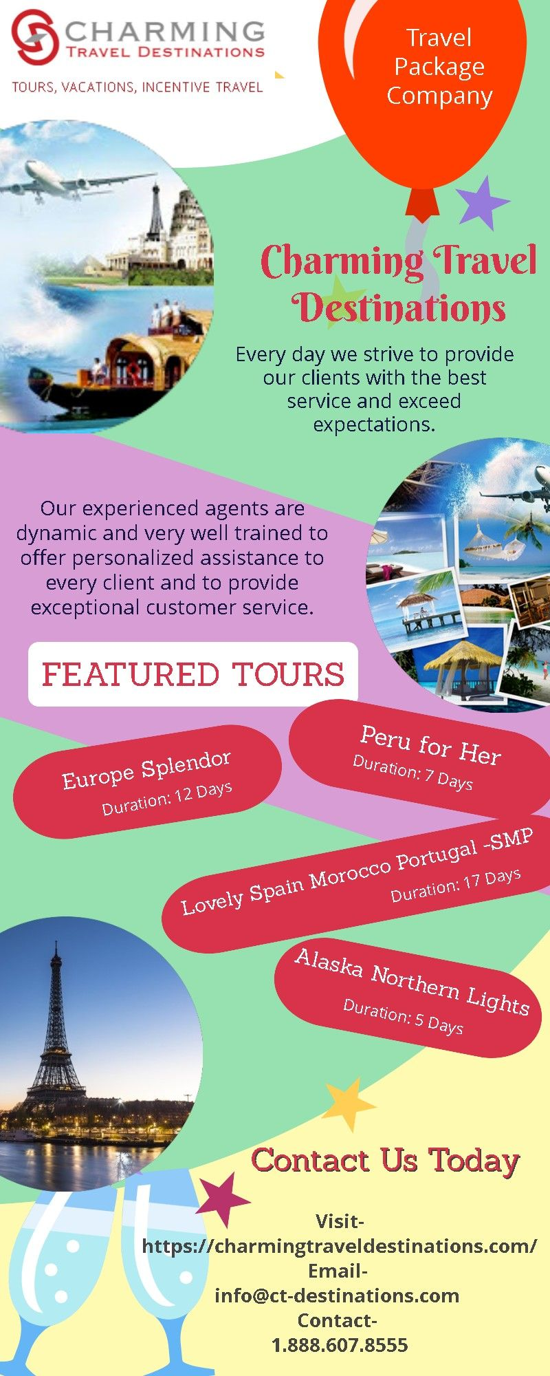Charming Travel Destinations Is The Leading Travel Package Company