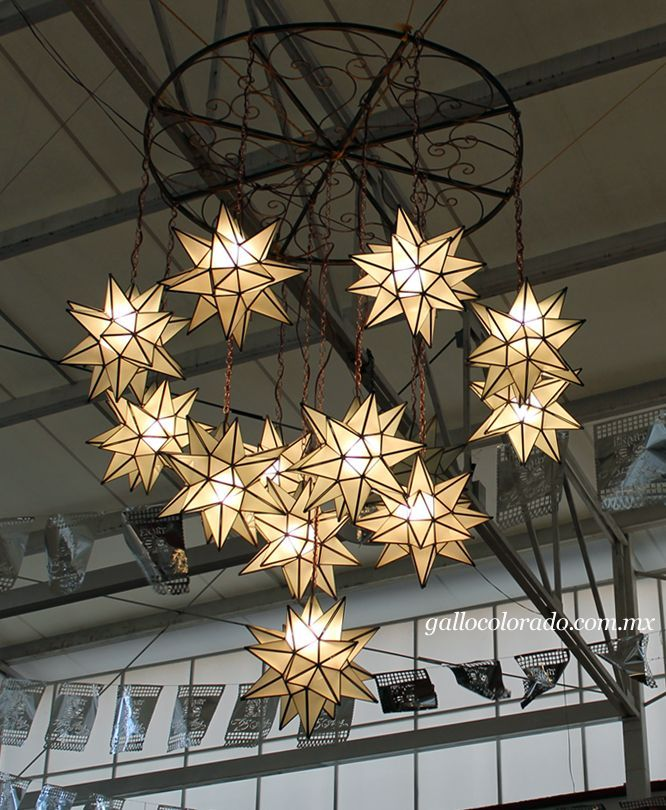 17 Best Mexican Hanging Star Lights