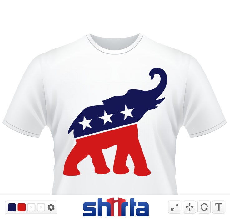 Republican Elephant, a little more stylized