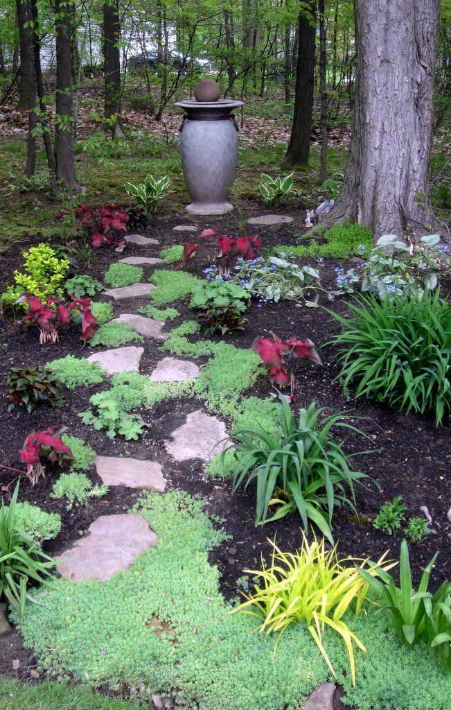 shade garden path ideas Shade garden path style | Sacred Backyard Retreats/Zen