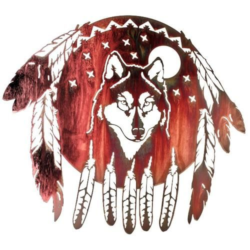 This would make a great accent piece for southwestern home decor this would make a great accent piece for southwestern home decor wolf head native american ccuart Images