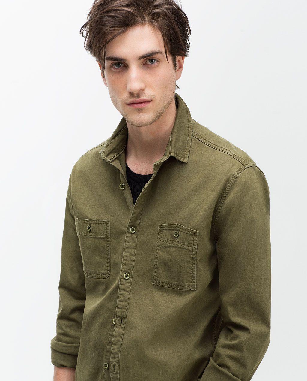 50% rebajado amplia selección de colores y diseños descuento más bajo Image 1 of from Zara | style | Cotton shirts for men, Mens ...