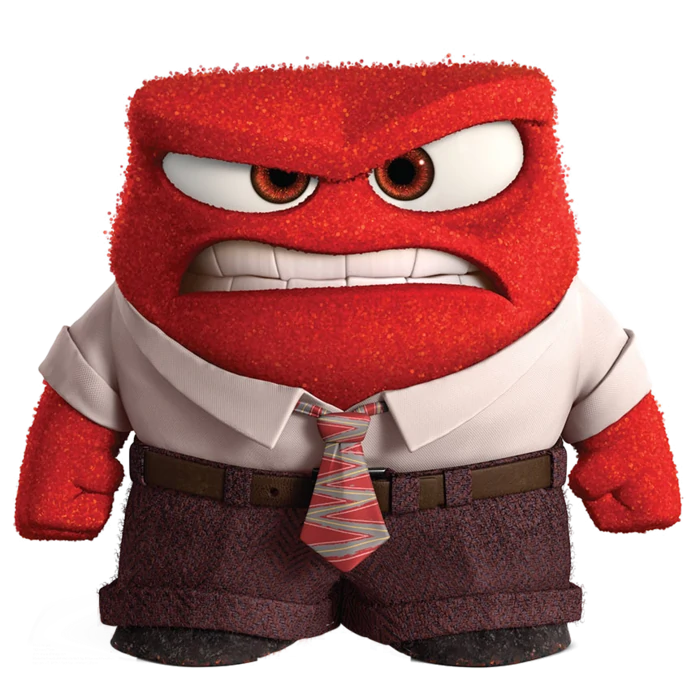 Anger Inside Out Wikia Fandom Disney Inside Out Inside Out Characters Disney Pixar