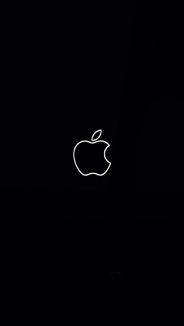 Pin By Coco Santana Santana On Screenshots Black Wallpaper Iphone Apple Wallpaper Apple Logo Wallpaper Iphone Apple logo wallpaper for iphone and