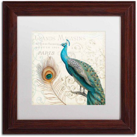 Trademark Fine Art Majestic Beauty II Square Canvas Art by Daphne ...