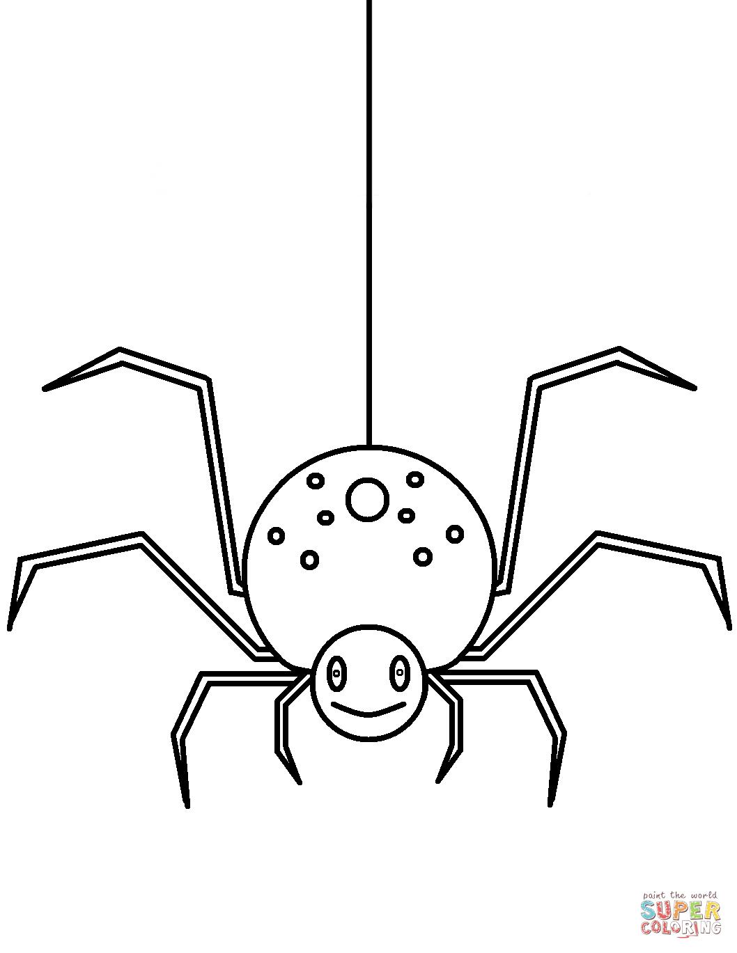 Resultado De Imagen Para Imagenes De Araña Para Colorear