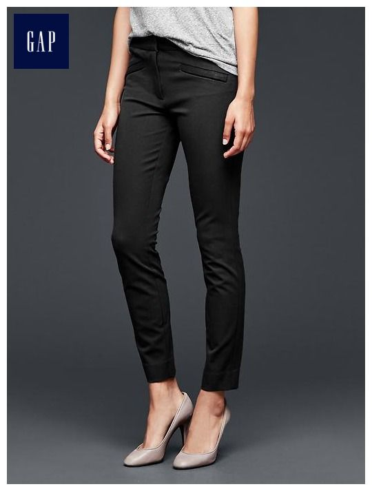 c4f51a26080f6 Skinny ankle pants - Made with Bi-Stretch fabric that holds, recovers and  flatters every figure.
