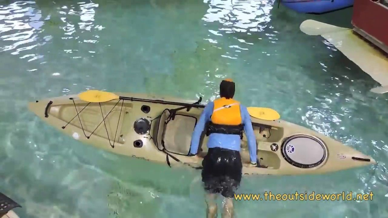 How to re enter a sit on top kayak youtube kayaking