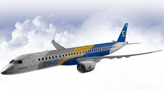Pregopontocom Tudo: Embraer apresenta jato E2 no dia 25 de fevereiro