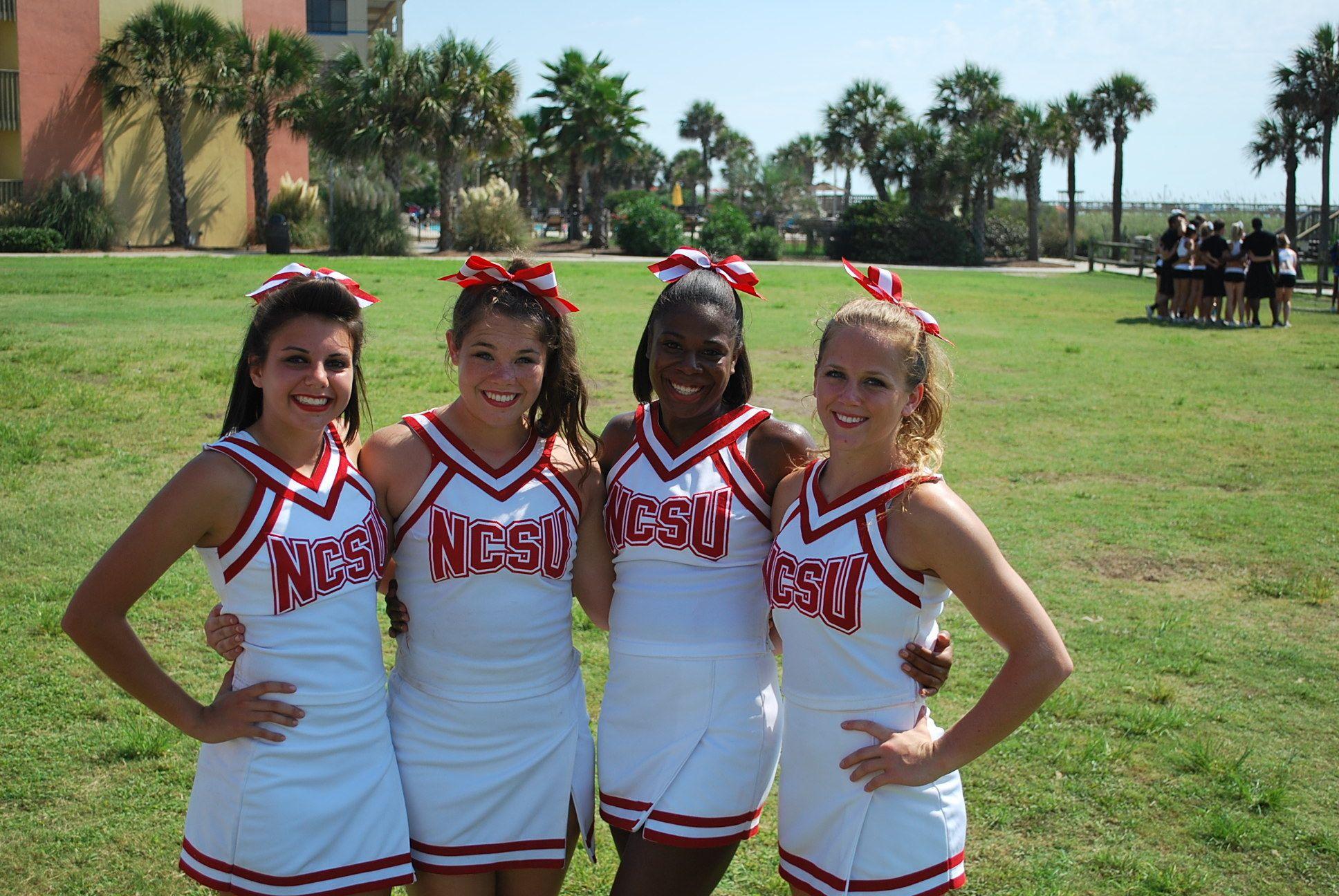 f6ba92441164f NC State Cheerleaders and Mascots Earn Preseason Awards